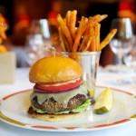 050715 PBDN Meghan McCarthy Classic American Cheeseburger at Cafe Boulud.