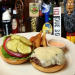 Cheeseburger served with Rock n Roll sauce at the new Double Roads Tavern in Jupiter. (Richard Graulich / The Palm Beach Post)
